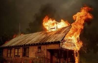 کیلیفورنیا کے جنگلات میں آتشزدگی،2فائر فائٹرز ہلاک