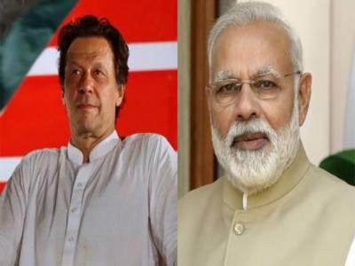 بھارتی وزیر اعظم مودی کا عمران خان کو ٹیلفون, پاکستان کے ساتھ تعلقات کےنئے دور کیلئے تیار ہیں،مودی