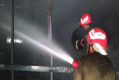 رحیم یار خان:آتشزدگی سے 20 دکانیں، 50 سٹالز راکھ میں تبدیل