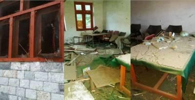 تعلیم دشمن عناصر کے 12تعلیمی اداروں پر حملے ،آگ لگا دی