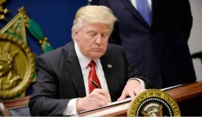 امریکہ کی ایران پر نئی اقتصادی پابندیاں، ٹرمپ نے دستخط کر دئیے