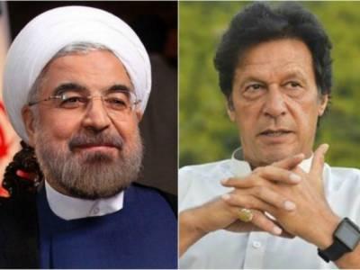 ایران کے صدر حسن روحانی کا عمران خان کو ٹیلیفون،ایران کے دورے کی دعوت، چیئرمین تحریک انصاف نے دورے کی دعوت قبول کر لی