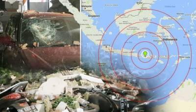 انڈونیشیا :تباہ کن زلزلے کے 4روز بعد آفٹر شاکس کا سلسلہ جاری