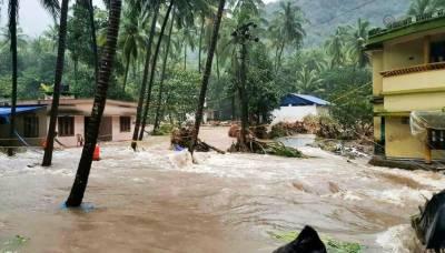 بھارتی ریاست کیرالہ میں سیلاب،ہلاکتیں 29 ہو گئیں