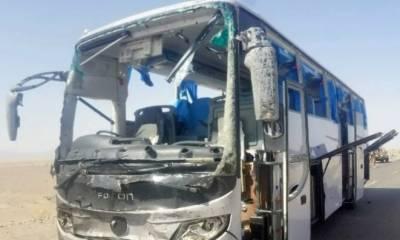 کوئٹہ:دالبندین میں بس پر خودکش حملہ،5افراد زخمی