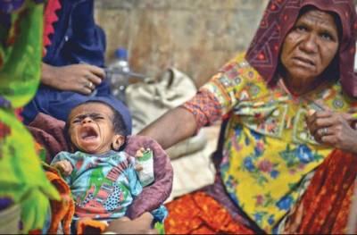 تھر : بچوں کی ہلاکتوں کا سلسلہ جاری،18گھنٹوں میں3بچے انتقال کر گئے