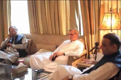 جہانگیر ترین اور علیم خان کی چوہدری برادران سے ملاقات