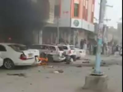 چمن : مال روڈ پر دھماکہ، ایک شخص جاں بحق ،10 زخمی
