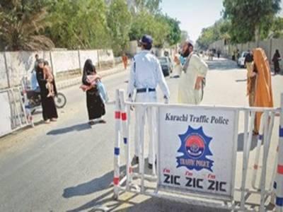 کراچی: کرپشن کے الزامات پر 5 ٹریفک پولیس افسران معطل