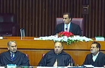 پندرہویں قومی اسمبلی کاافتتاحی اجلاس پارلیمنٹ ہائوس میں جاری