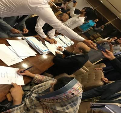 پاکستان کی نئی قومی اسمبلی کی تشکیل عمل میں آگئی