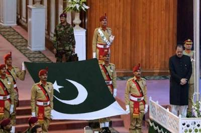 جناح کنونشن سینٹر اسلام آباد میں یوم آزادی کی مرکزی تقریب جاری