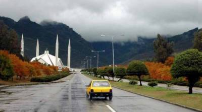 ملک کے مختلف شہروں میں بارش اور ٹھنڈی ہواؤں سے موسم سہانا ہوگیا