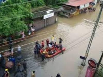 بھارت: بارشوں اور سیلاب سے سات ریاستوں میں 774 افراد ہلاک اور 245 زخمی ، 27 افراد لاپتہ