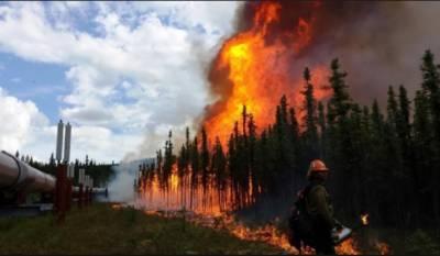 کینیڈا: جنگل میں لگی آگ مزید پھیل گئی، آبادی کو خطرات لاحق