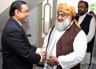وزیراعظم کا انتخاب، مولانا فضل الرحمان کی سابق صدر آصف علی زرداری سے ملاقات