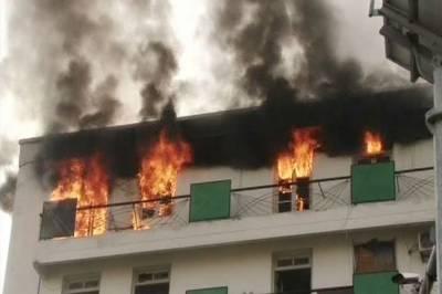 رجسٹرار کوآپریٹو سوسائٹیز پنجاب میں آتشزدگی، تمام ریکارڈ جل گیا