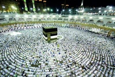 سعودی عرب' 16 لاکھ عازمین حج کی آمد