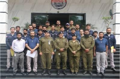 پنجاب سیف سٹیز اتھارٹی میں بہترین کارکردگی کا مظاہرہ کرنے والے افسران کیلئے تقریب تقسیم انعامات