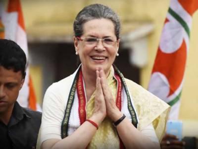 نوجوت سنگھ سدھو نے پاکستان جا کر غلط نہیں کیا: سونیا گاندھی