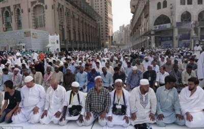 سعودی عرب سمیت خلیجی ممالک میں آج عید الاضحی منائی جا رہی ہے