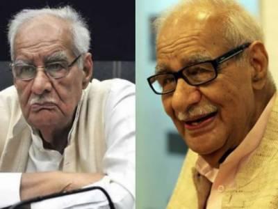 نئی دہلی: معروف بھارتی صحافی، مصنف اور سماجی کارکن کلدیپ نائر 95 برس کی عمر میں انتقال کرگئے