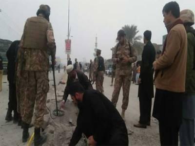 شمالی وزیرستان: بارودی سرنگ کے دھماکے میں حوالدار احمد خان شہید،3 زخمی