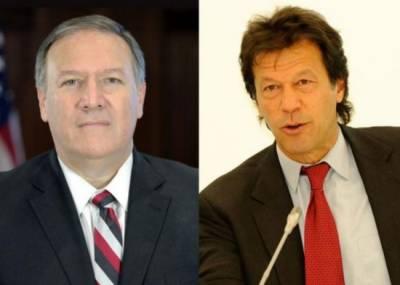 امریکی وزیر خارجہ کاوزیراعظم عمران خان کو ٹیلی فون،مل کر کام کرنے کی خواہش کا اظہار
