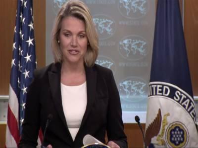 مائیک پومپیو اور پاکستانی وزیراعظم کی بات چیت سے متعلق اپنے موقف پر قائم ہیں: امریکی محکمہ خارجہ