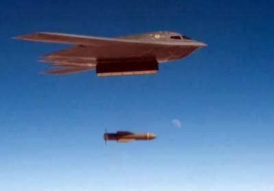 امریکی ایئر فورس کا اپ گریڈ شدہ نیوکلیئر بم کا تجربہ