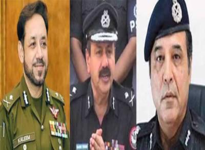 آئی جی سندھ کون ؟ سندھ حکومت نے وفاق کو 3 نام ارسال کر دیئے