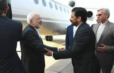 ایرانی وزیر خارجہ جواد ظریف پاکستان کے دورے پر اسلام آباد پہنچ گئے