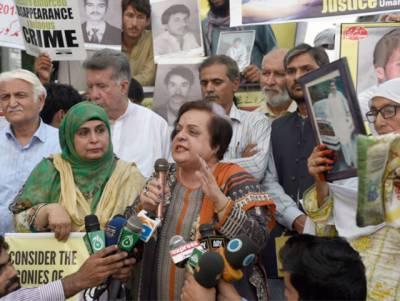 جبری گمشدگی کا عالمی دن, جبری گمشدگی کو قانونی جرم قرار دیا جائے گا: وفاقی وزیر انسانی حقوق شیریں مزاری