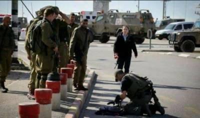 اسرائیلی فوج کا فلسطینی مظاہرین کی ریلی پر فائرنگ شیلنگ,متعدد زخمی