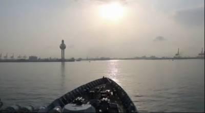 پاک بحریہ کے جہاز پی این ایس اصلت کا سعودی عرب کی بندرگاہ جدہ کا دورہ
