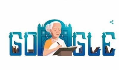 گوگل ڈوڈل کا فاطمہ ثریا بجیا کی سالگرہ پر خراج عقیدت