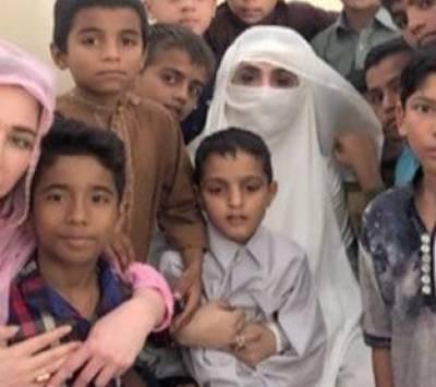 لاہور :وزیراعظم کی اہلیہ بشریٰ عمران کادارالشفقت کا دورہ