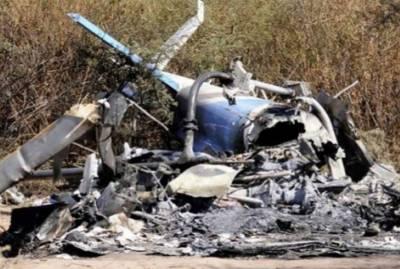 افغانستان میں فوجی ہیلی کاپٹر گر کر تباہ،2 ہلاک،3زخمی