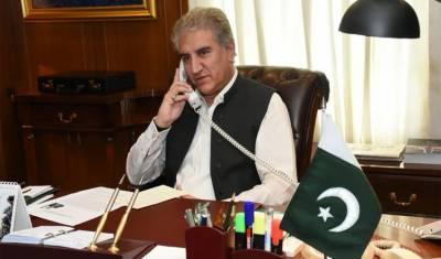 وزیرخارجہ کاافغانستان میں امن واستحکام کے حوالے سے پاکستان کے عزم کا اعادہ