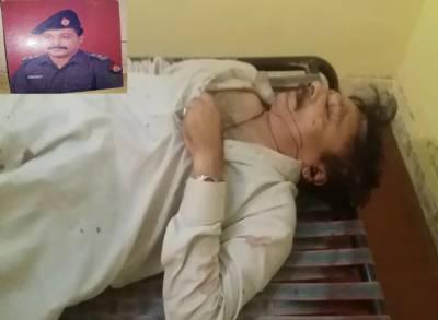 ڈی ایس پی راجہ اظہر کا مبینہ طور پر اقدام خود کشی