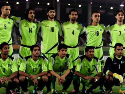 ساف چیمپئن شپ کے پہلے میچ میں پاکستان فٹبال ٹیم کا اپنی مہم کا فاتحانہ آغاز