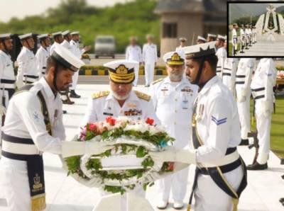 پاک بحریہ میں پاکستان کا 53واں یومِ دفاع روایتی جوش و جذبے سے منایا گیا
