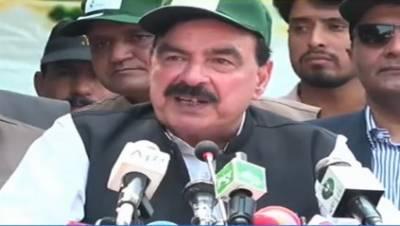 پاکستان ریلوے قوم کوجلد خوش خبری دے گی, وزیراعظم کی ہدایت پر1 لاکھ 84 ہزار پودے لگاچکے: شیخ رشید