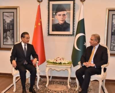 اسلام آباد: چینی وزیر خارجہ وانگ ای کی دفتر خارجہ آمد
