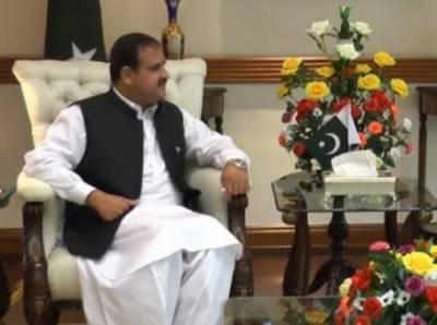 لاہور:وزیراعلیٰ پنجاب عثمان بزدارکی باکسرعامرخان کومبارکباد