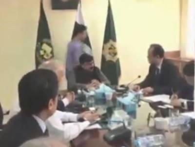 وفاقی وزیر ریلوے شیخ رشید سے چینی ریلوے حکام نے ملاقات