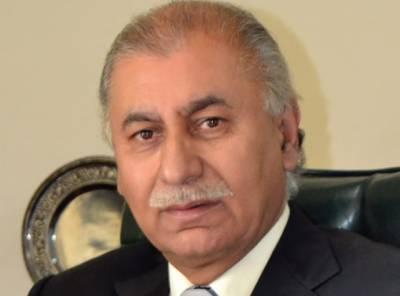 سینٹر محسن عزیز کا اڑھائی سال کی تنخواہ دیامیر بھاشاڈیم فنڈ میں دینے کا اعلان