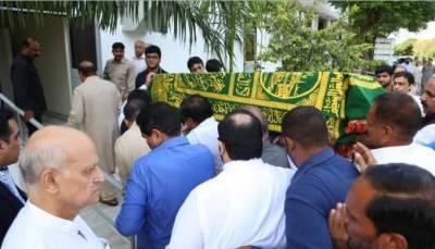 لاہور :بیگم کلثوم نواز کی آخری رسومات کیلئے جاتی امراء میں تیاریاں مکمل