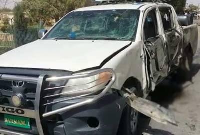 پشین:اسسٹنٹ کمشنر کی گاڑی کے قریب دھماکا ،3لیویز اہلکار شہید ،4زخمی
