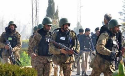 ملتان:آپریشن ردالفساد کے تحت پولیس اور حساس اداروں کا سرچ آپریشن